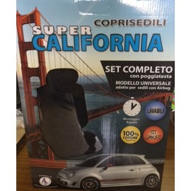 Coprisedili set completo super california